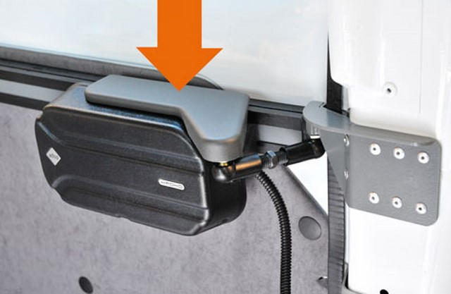 Автоматический привод для двери микроавтобуса