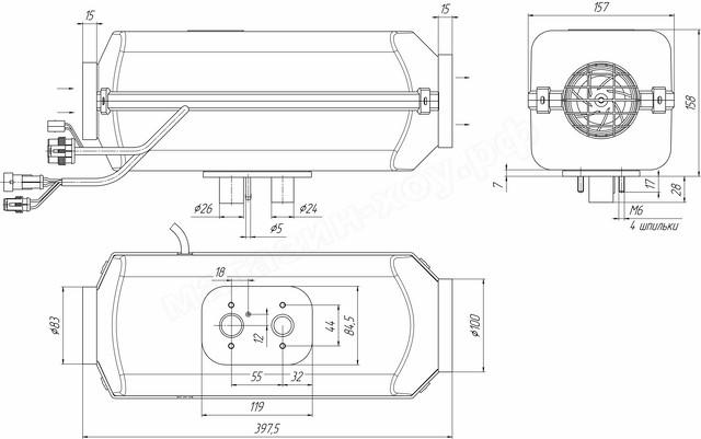 Планар 44Д-24-GP (свеча