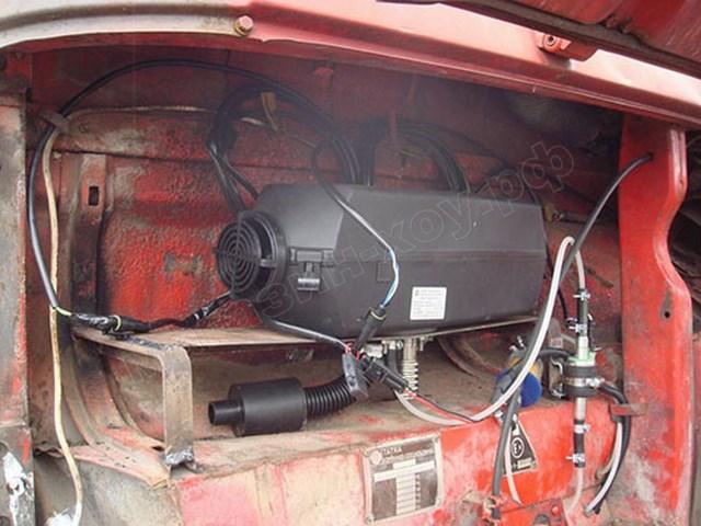 Автономный отопитель автомобиля